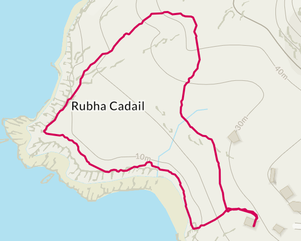 Short circular route to Rhue Lighthouse